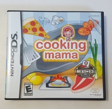 Cooking Mama - Nintendo DS Video Game - 2006 CIB Complete Tested Working - $8.86
