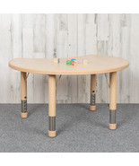 25x35 Crescent Natural Table - $127.00