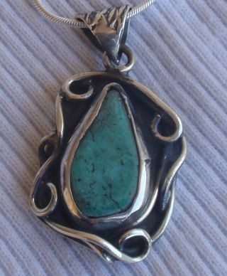 Eliat pendant hand made p97