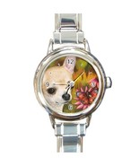 Italian Charm Watch from art painting Dog 85 Ch... - $15.99