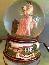 San Francisco Music Box Co - Rhett & Scarlett Waterglobe Gone With the Wind - $75.00