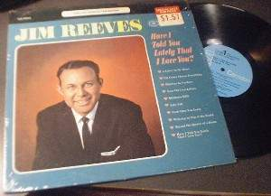 Jim Reeves - Have I Told You Lately That I Love You?- RCA Camden CAS-842 (e)