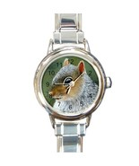 Italian Charm Watch  from painting Squirrel 16 art - $15.99