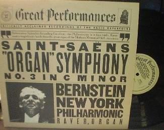 Bernstein-NY Philharmonic - SAINT SAENS - CBS MY 37255