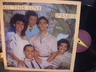 DeBarge - All This Love - Gordy Records 6012GL