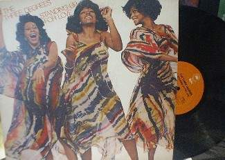 The Three Degrees - Standing Up For Love - Epic Records 34385