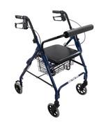 Rollator With Padded Seat Granite Gray - $82.53