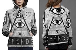 Illuminati- New- World- Order Women's Zipper Hoodie - $49.80+