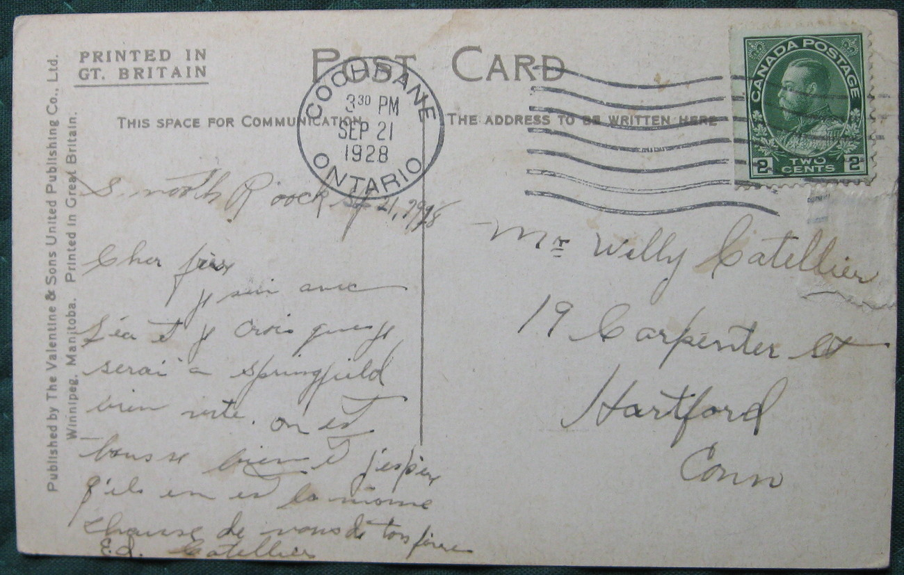 Valentine & Sons, Full Bleed Collotype postcard, Smith Stree