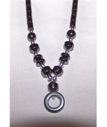"18 "" Hematite Necklace with Screw Shut closure Outstanding   - $5.95"