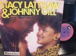Stacy Lattisaw & Johnny Gill - Perfect Combination - Cotillion Records 9... - $5.00