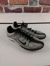 Nike Waffle Racer Shoes 2010 Track and Field Gray Mesh Size 7 US Men's - $43.54
