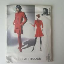 Vogue Attitudes 2566 Jacket Top Skirt Sewing Pattern Gordon Henderson 8 ... - $10.88