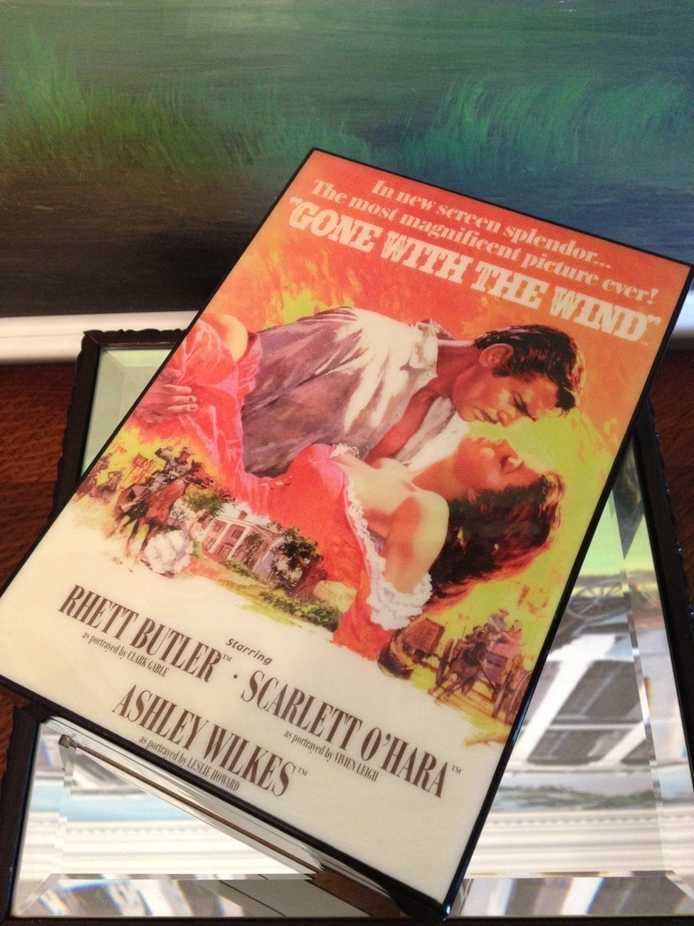 Primary image for San Francisco Music Box Co - Movie Poster Music Box Gone With the Wind