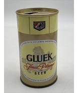 Gluek Beer Can Empty Pull Tab 12 Oz Vintage House Of Heileman 20-2373 - $14.20