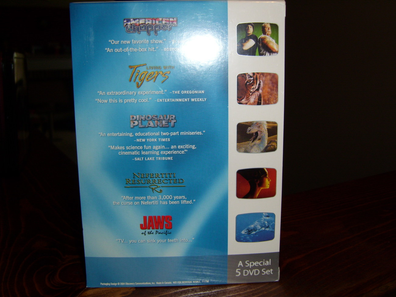 The Best of Discovery Channel volume 1 5 DVD set brand new