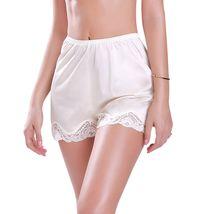 Illusion Women's Premium Nylon Daywear Bloomer Slip Pants With Lace Trim 1039 image 5