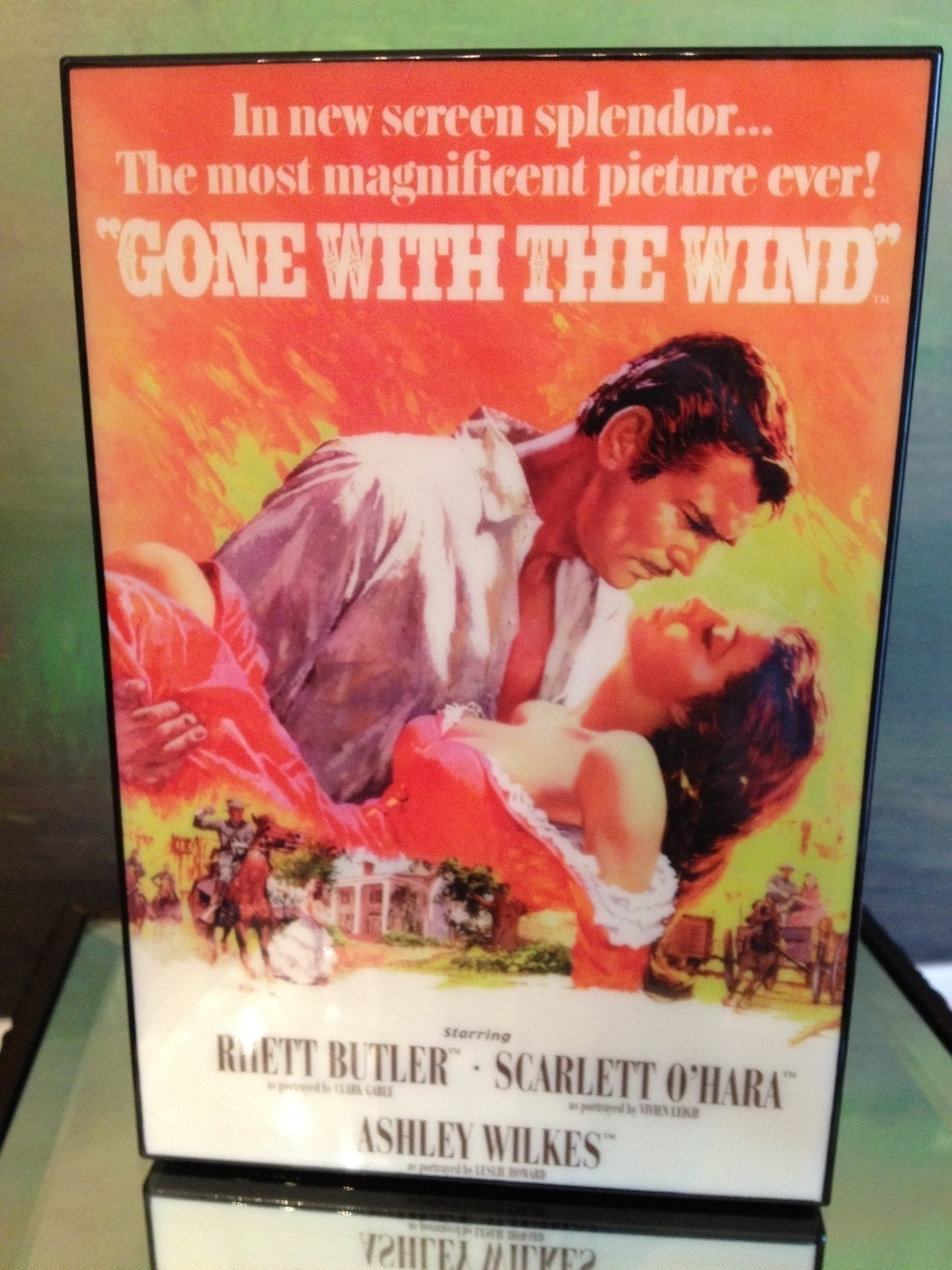 San Francisco Music Box Co - Movie Poster Music Box Gone With the Wind