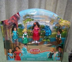 "Disney ELENA of Avalor  Avalor Friends 4 Mini 5.5""H Doll Set New - $8.88"