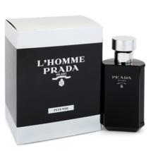 Prada L'Homme Prada Intense 1.7 Oz Eau De Parfum Cologne Spray  image 1