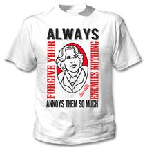 Oscar Wilde Enemies - New Cotton White Tshirt - $24.02