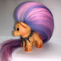 VINTAGE DAM HORSE TROLL ~ FRESH FROM THE TROLL SPA ~ NEW HAIR AND SPARKLE EYES! image 3