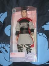 "Disney Store Mulan Li Shang Classic Prince Poseable Doll Figure 12/"" New in Box"