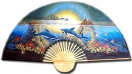 """40"""" width Striking Dolphins Decorative Wall Fans - $28.95"""