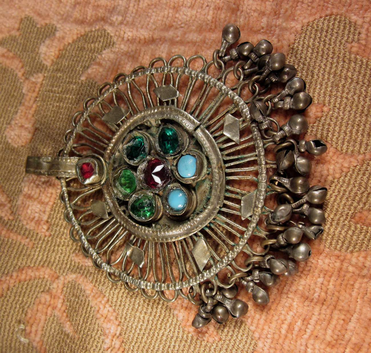Kuchi hand made tribal pendant