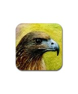 Rubber Coasters set of 4,  from art Bird 42 Eagle - $13.99