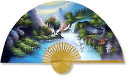 """40"""" width Fantasy Valley Chinese Wall Fans - $28.95"""