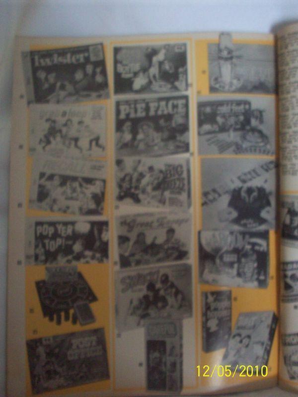Rare Vintage 1969 Ecomony Sales Catalog w/ Toys Dolls +