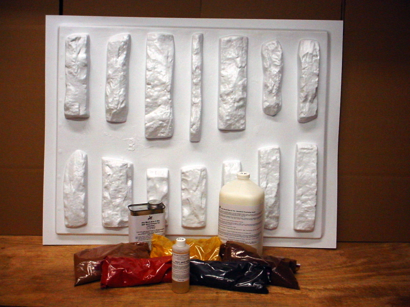 #ODL-86 DO-IT-YOURSELF DRYSTACK LEDGESTONE PROJECT KIT WITH 86 MOLDS & SUPPLIES