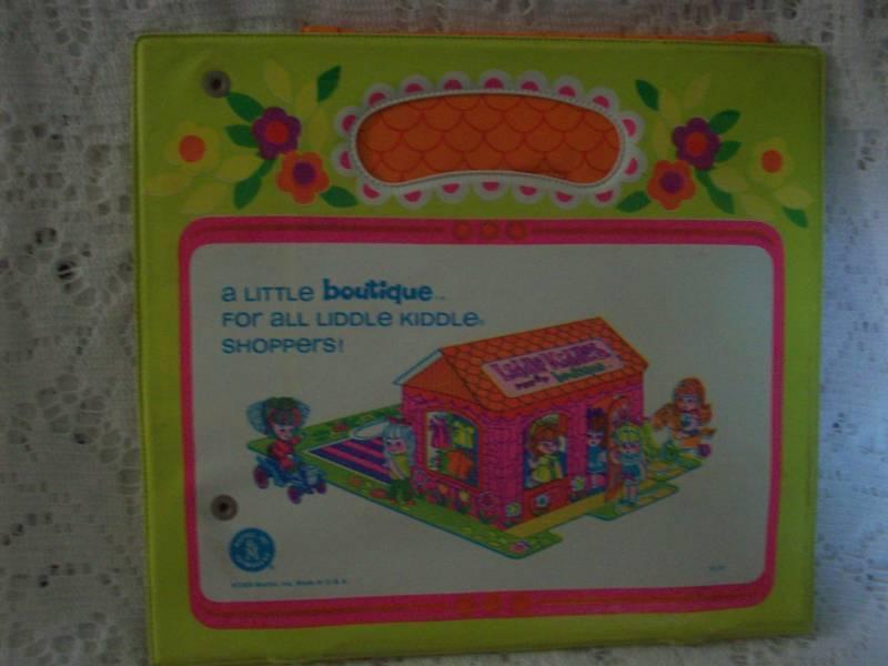 Vintage 1960s Kiddle Dolls Pop Up Boutique Playhouse