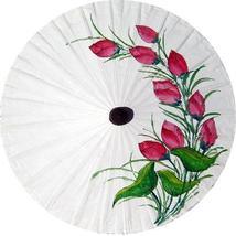 """28"""" Diameter Red Tulips Fashion Umbrellas - $24.95"""
