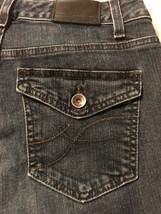 DKNY Women's Denim Madison Jean Dark Blue Stretch Boot Cut Size 2 X 29 - $23.76