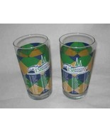 """Neat Pair 5"""" 138 KENTUCKY DERBY Drinking Glasses - $19.24"""