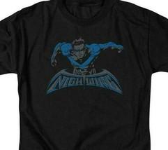 Nightwing t-shirt DC American comic books Superman hero graphic tee BM2468 image 2
