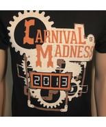 Carnival Of Madness 2013 Concert Tour Short Sleeve Shirt Small Black Orange - $19.34