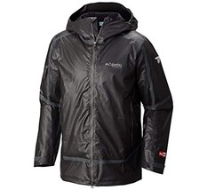 Columbia Men's OutDry Ex Diamond Snow Shell Jacket Small S Black - $399.95