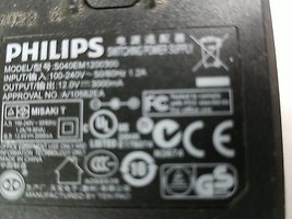 Philips S040EM1200300 Power Supply 12V 300mA - $15.82
