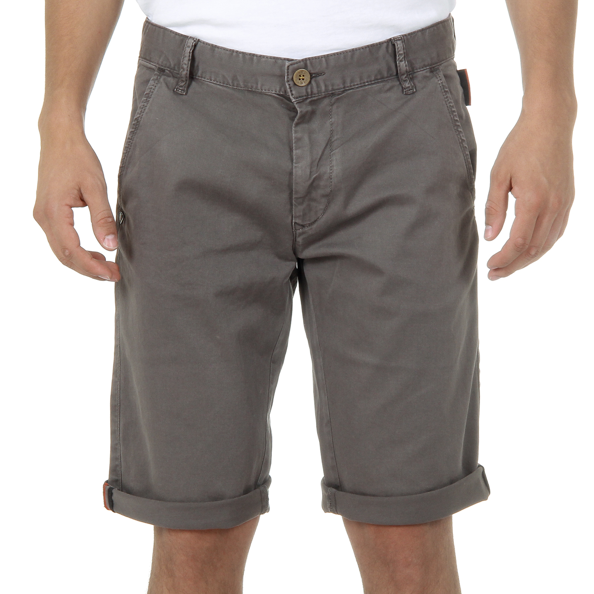 Primary image for Andrew Charles Mens Shorts Brown SADECK