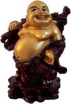 Smiling Buddha Resin Statues - $19.95