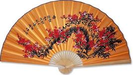 Lucky Blossoms Chinese Wall Fans - $39.95