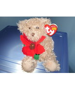 2005 Holiday Teddy TY Beanie Baby MWMT - $2.99