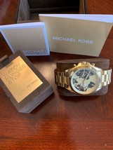 f0bddbabfaba MICHAEL KORS Watch Hunger Stop Oversized Bradshaw 100 Gold-Tone Watch MK.