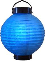 "8"" Blue Glowing Lantern Glowing Asian Lanterns - $14.95"