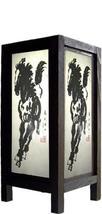 "11"" Watercolor Stallion Lamp Decorative Lamps - $19.95"
