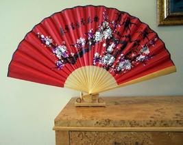 Table Prosperity Blossoms Table Display Fans - $18.95