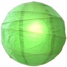 12 inch Harmonious Green Globe Lantern Chinese Lanterns - $8.95